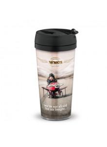 objet publicitaire - promenoch - Mug de Voyage 400 ml  - Mug Thermos Personnalisé