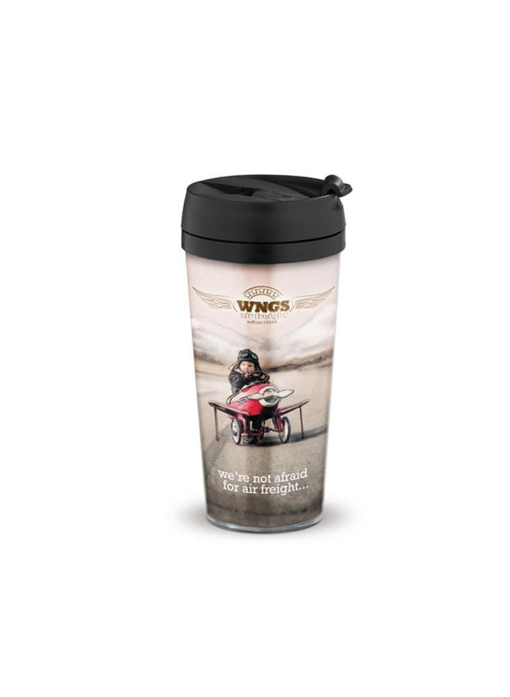 Mug de Voyage 400 ml personnalisé  publicitaire