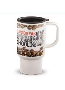 objet publicitaire - promenoch - Mug de Voyage 500 ml  - Mug Thermos Personnalisé