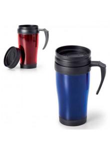 objet publicitaire - promenoch - Mug de Voyage Color 400 ml  - Mug Thermos Personnalisé