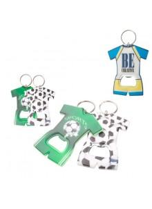 objet publicitaire - promenoch - Porte-clés Décapsuleur Football  - Accessoires supporters
