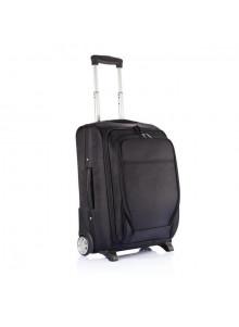 objet publicitaire - promenoch - Trolley Avion Extensible Black  - Valise & Trolley Personnalisé