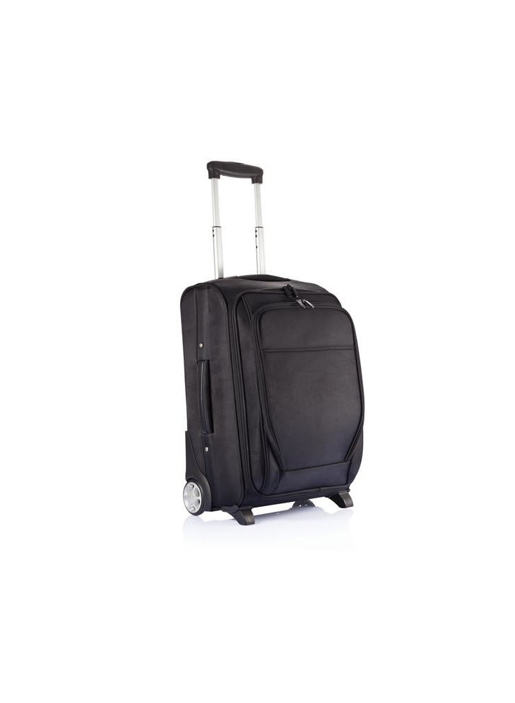 Trolley Avion Extensible Black  publicitaire