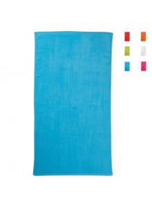 objet publicitaire - promenoch - Serviette de Plage Eco Color personnalisée  - Serviettes de plage
