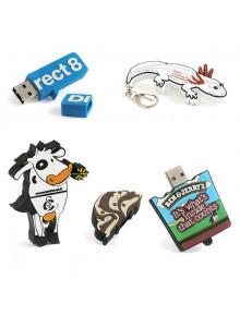 objet publicitaire - promenoch - Clé USB 2D sur mesure  - Clés USB Publicitaire