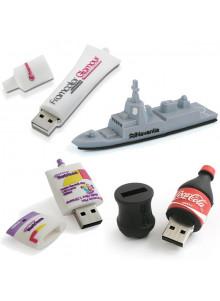 objet publicitaire - promenoch - Clé USB 3D sur mesure  - Clés USB Publicitaire