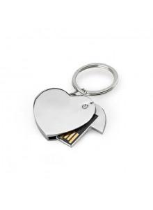objet publicitaire - promenoch - Clé USB Coeur  - Clés USB Publicitaire