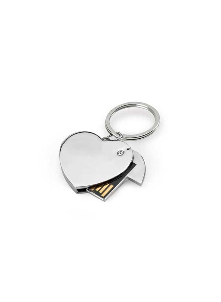 Clé USB Coeur  publicitaire