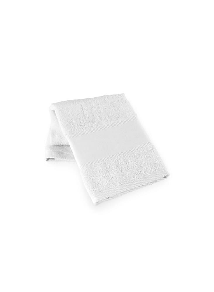 Serviette 50 x 80 cm - blanche publicitaire