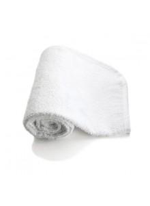 objet publicitaire - promenoch - Carré Eponge Blanc - 30 x 30 cm  - Serviette personnalisée