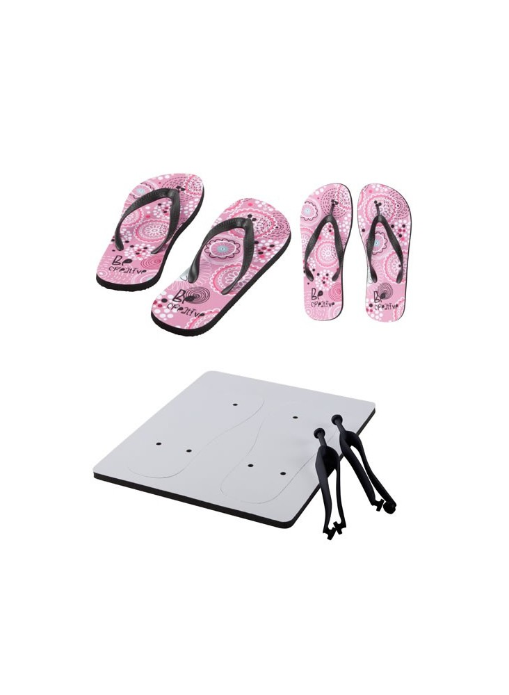 Tongs Impression Sublimation  publicitaire