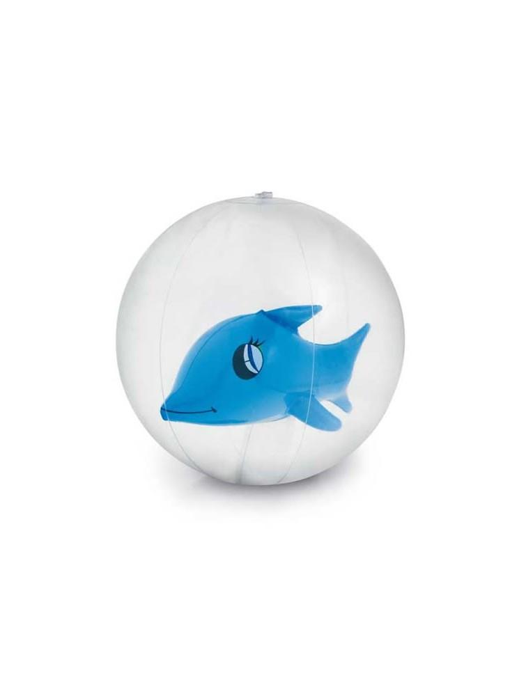 objet publicitaire - promenoch - Ballon gonflable dauphin  - Jeux de plage & piscine