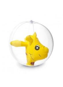objet publicitaire - promenoch - Ballon gonflable girafe  - Jeux de plage & piscine