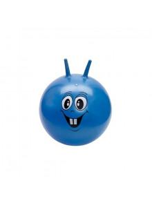 objet publicitaire - promenoch - Balle Jumping bleue  - Crèche collectivité petite enfance