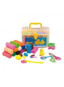 objet publicitaire - promenoch - Pâte à modeler enfant avec outils  - Crèche collectivité petite enfance
