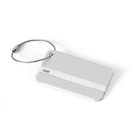 Etiquette Bagage Aluminium
