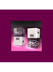 objet publicitaire - promenoch - HUB Gravure laser  - Cristal - Verre lumineux