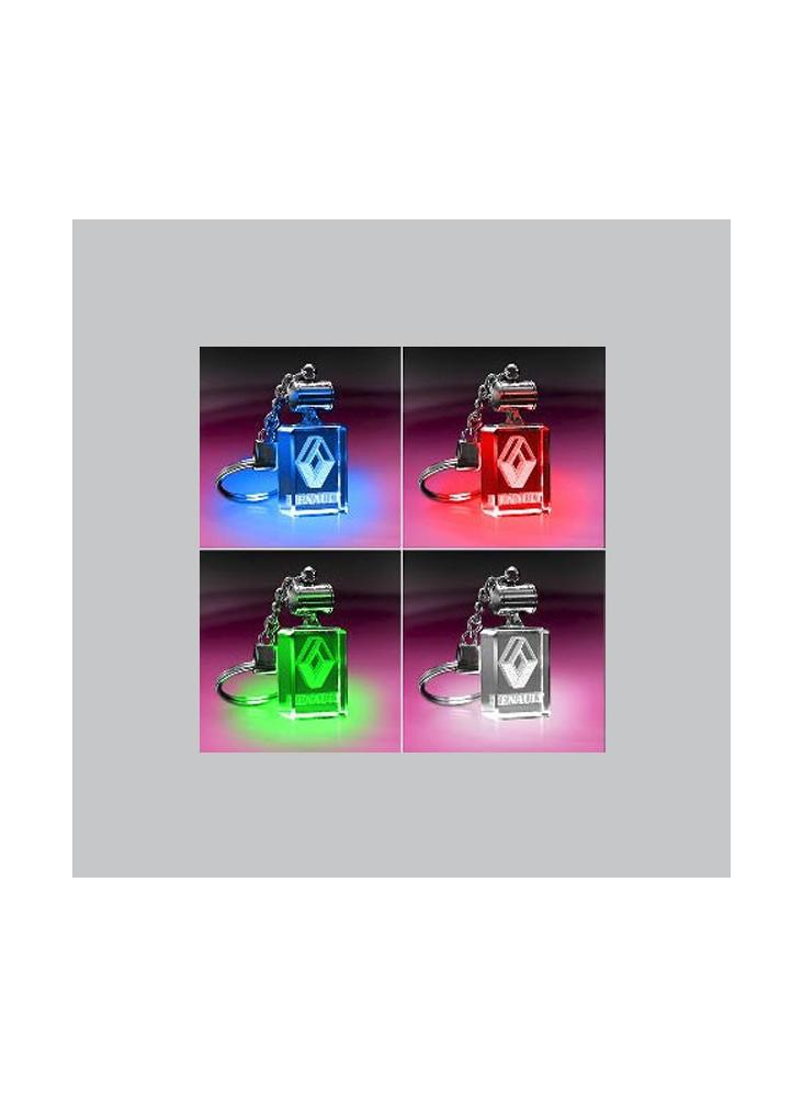 PORTE-CLÉS Lumineux LED Rectangulaire  publicitaire