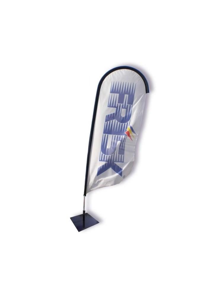 Beach Flag Azur II - Kit Complet  publicitaire