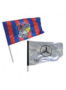 objet publicitaire - promenoch - Grand Drapeau Publicitaire  - Beach Flag Roll Up Stand