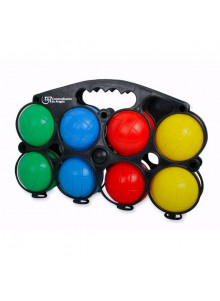 objet publicitaire - promenoch - Jeux de 8 boules Plastique  - Jeux de plage & piscine