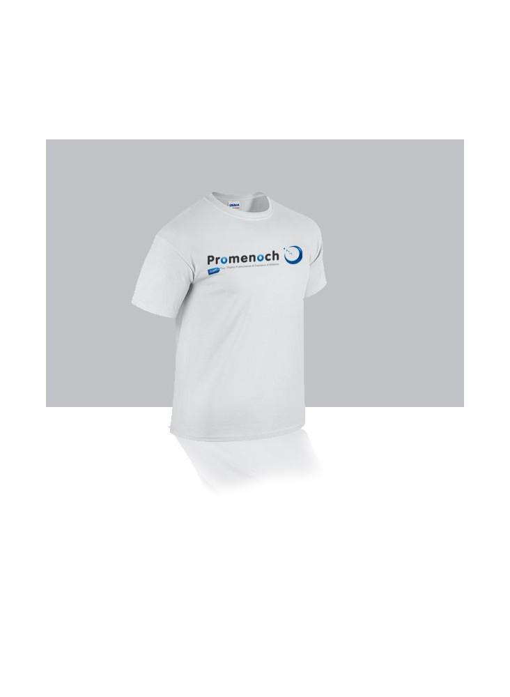 Tee-shirt blanc personnalisé  publicitaire