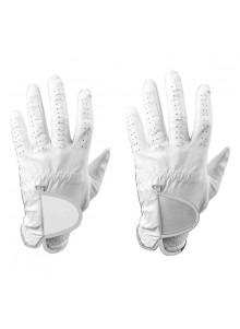 objet publicitaire - promenoch - Gants de golf en cuir blanc  - Golf