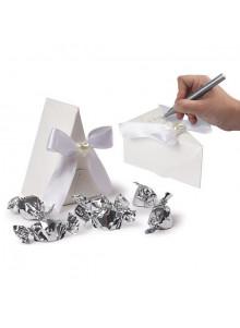 objet publicitaire - promenoch - Boite de mariage Cindy en carton  - Cadeau Mariage Personnalisé