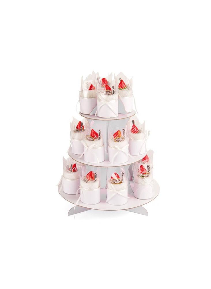 Présentoir à gâteau spécial mariage  publicitaire