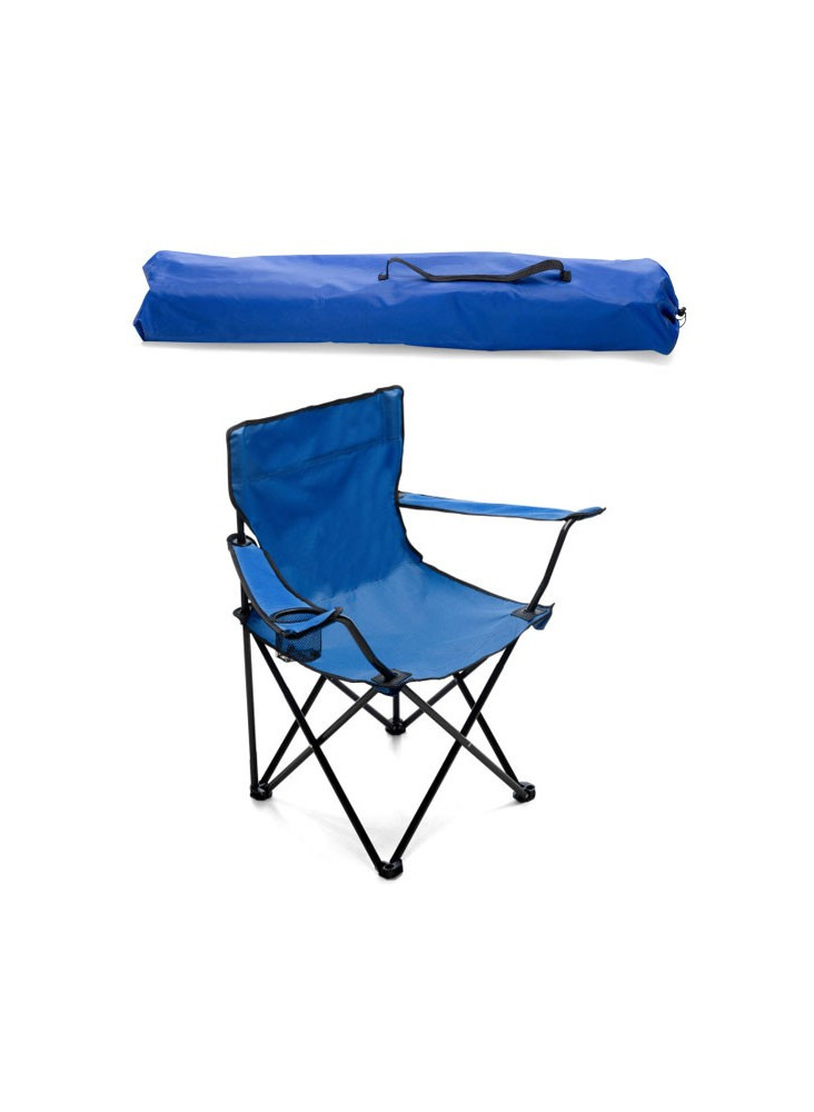 Chaise camping pliable  publicitaire