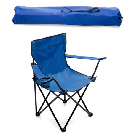 Chaise camping pliable