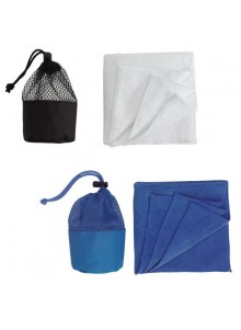 objet publicitaire - promenoch - Serviette Microfibre  - Serviettes de plage