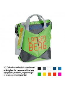 objet publicitaire - promenoch - Sac à bandoulière Sur Mesure XL  - Sac Sur Mesure 100% personnalisable