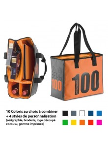 objet publicitaire - promenoch - Sac Isotherme Sur Mesure  - Sac Sur Mesure 100% personnalisable