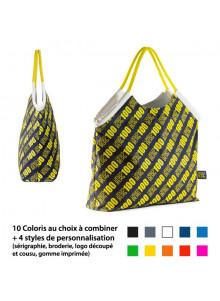 objet publicitaire - promenoch - Grand Sac Shopping Sur Mesure  - Sac Sur Mesure 100% personnalisable
