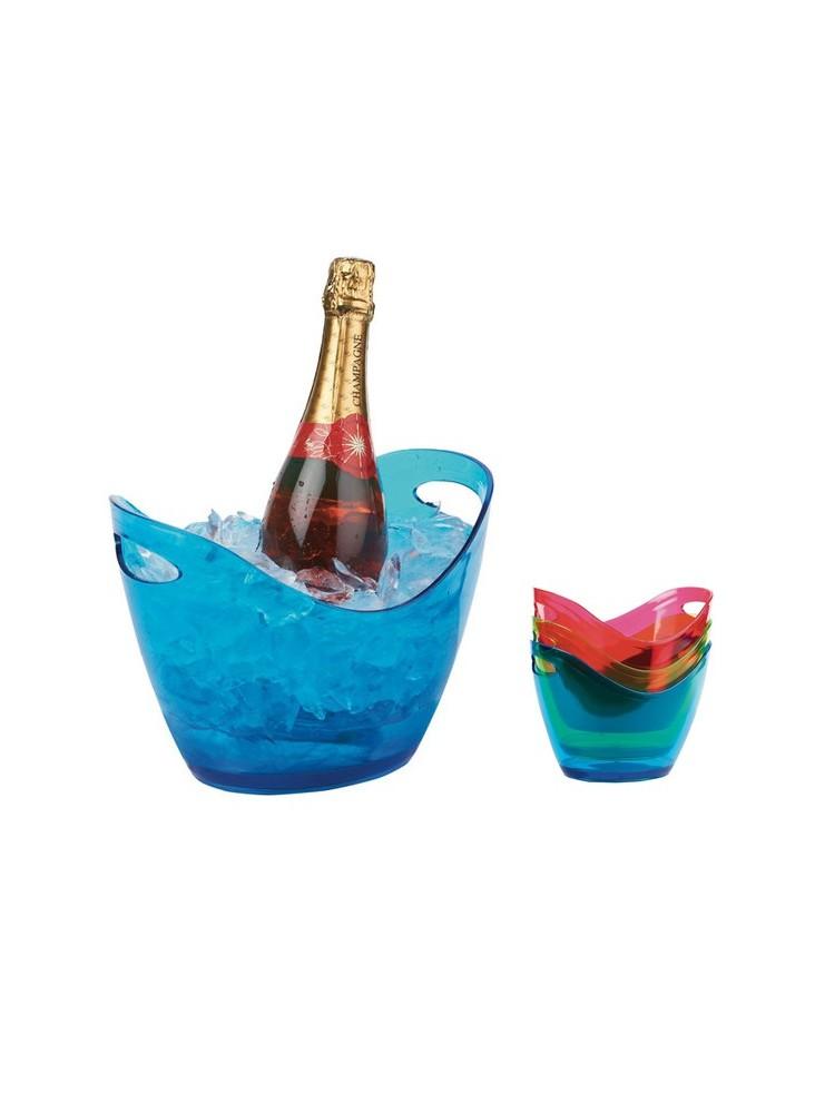objet publicitaire - promenoch - Seau Champagne Vin Xcool  - Accessoires Vin Sommelier