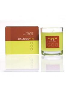objet publicitaire - promenoch - Bougie Parfumée Bambou Thé  - Bougie Parfumée