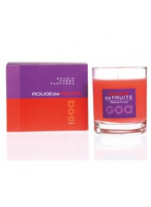 objet publicitaire - promenoch - Bougie Parfumée Fruits Rouges  - Bougie Parfumée