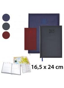 objet publicitaire - promenoch - Agenda Harmonie 16,5 x 24 cm Publicitaire  - Agenda Publicitaire