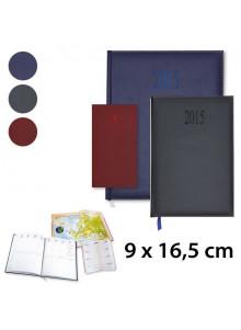 objet publicitaire - promenoch - Agenda Harmonie 9 x 16,5 cm  - Agenda Publicitaire