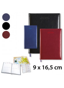 objet publicitaire - promenoch - Agenda de Poche 9 x 16,5 cm  - Agenda Publicitaire