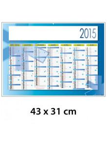 objet publicitaire - promenoch - Calendrier Ambulancier 43 x 31 cm  - Calendrier Publicitaire