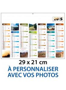 Calendrier Photographies Personnalisées