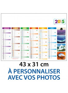 objet publicitaire - promenoch - Calendrier Photographies Personnalisées  - Calendrier Publicitaire