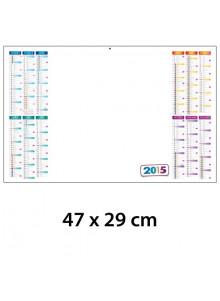 objet publicitaire - promenoch - Calendrier Planning Effaçable  - Calendrier Publicitaire