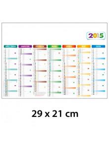 objet publicitaire - promenoch - Calendrier Bancaire 29 x 21 cm  - Calendrier Publicitaire