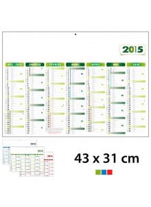 objet publicitaire - promenoch - Calendrier Publicitaire 43 x 31 cm  - Calendrier Publicitaire