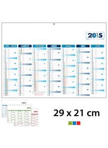 Calendrier Publicitaire 29 x 21 cm
