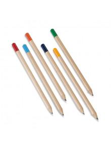 objet publicitaire - promenoch - 12 Crayons Papier Color  - Crayon Papier & Couleurs