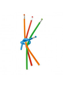 objet publicitaire - promenoch - Crayon Papier Flexible  - Crayon Papier & Couleurs
